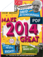The Big Issue London New Year Issue 2014 No 1083