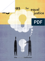 25 Ideas for Criminal Justice, 2008