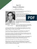 Dadaji on Miracles