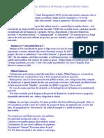 Diversitate Tematica, Stilistica Si de Viziune in Opera Marilor Clasici[1]