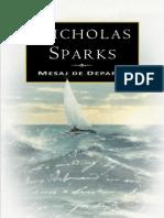Nicholas Sparks - Mesaj de Departe [v1.0]
