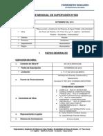 Informe de Supervision 08 -2013 - Rosario- Huancavelica-setiembre