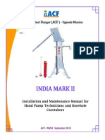 Installation and Maintenance Manual for Hand Pump Technicians and Borehole Caretakers 09.2010