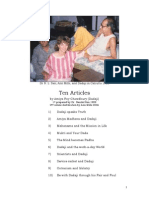 Ten Articles By Dadaji