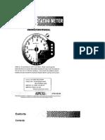 Apexi Installation Instruction Manual