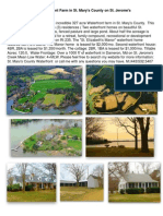 Southern Maryland Waterfront Farm For Sale  in St