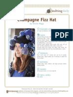Champagne Fizz Hat