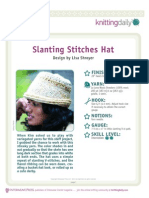 Slant Stitch Hat-A