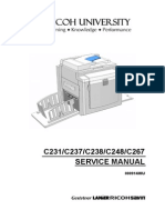 Manual Service ricoh C238-5430 Duplicator