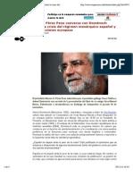"""Vista previa de """"Marcos Pérez Pena conversa con Domènech sobre la crisis del régimen monárquico español y las elecciones europeas. Antoni Domènech"""""""