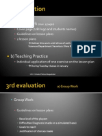 3rd Evaluation 20.Dec.2013