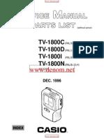 CASIO TV-1800