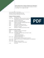 Programma & routebeschrijving introductiebijeenkomst