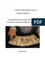 12 Basic Tarot Spreads