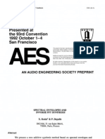 1992 Spectral Envelopes and Inverse FFT Synthesis