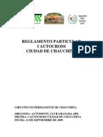 to Autocros Chauchina Aprobado