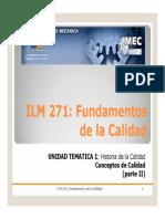 ILM271 UT1 2 Conceptos Calidad II