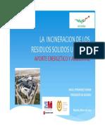 04 La Incineracion de Los Residuos Urbanos AEVERSU Fenercom 2013