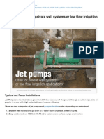 Electrical-Engineering-portal.com-Jet Pumps Used for Private Well Systems or Low Flow Irrigation Applications