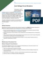 Electrical-Engineering-portal.com-Maintenance of Meduim Voltage Circuit Breakers