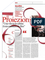Paolo Romagnoli, il proiezionista