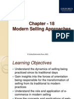 374 33 Powerpoint-slides 18-Modern-selling-Approaches Chapter 18 Modern Selling Approaches 1