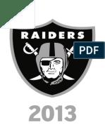 Guias 2013 Raiders