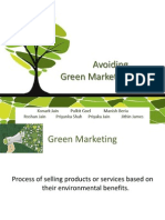 Green Marketing Myopia