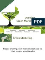 Green Marketing Myopia