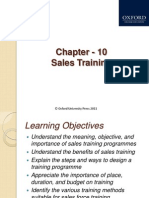 374 33 Powerpoint-slides 10-Sales-training Chapter 10 Sales Training