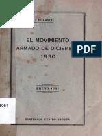 Martínez Nolasco, G.- El movimiento armado de diciembre