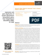 Isolation, heterologous expression and gene duplication of certain ribostamycin biosynthetic genes from Streptomyces ribosidificus NRRL B-11466
