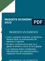 PAQUETE ECONÓMICO 2010