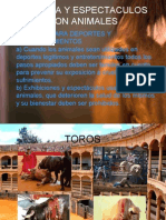 Bioetica y Animales