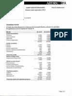 AIESEC Compta financière - exam août 2013