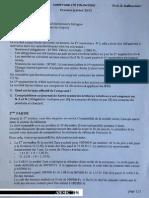 AIESEC Compta financière - exam janvier 2013