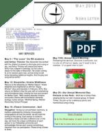 Lakeshore UU Newsletter MAY 2013