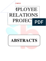 Abstracts - Employee Relations