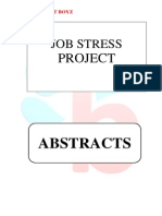 Abstracts - Job Stress