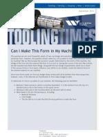 Wilson Tool Newsletter December 2013