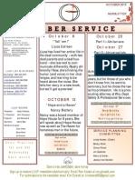 Luuf Newsletter Oct 2013
