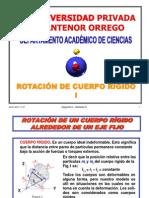 9-ROTACIÓN DE CUERPO RIGIDO I