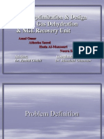 Optimization and Design of Dehydration Unit and Ngl Process_2