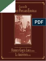 Canciones Populares Españolas - Federico García Lorca