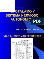 Hipotalamo y SNA