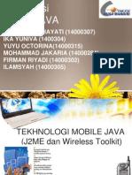 Presentasi Java Mobile