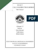 Perancangan Konstruksi Mesin (Siap)