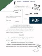 LSAC sues Robin Singh Part 1