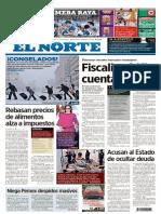 EL NORTE - Primera plana