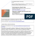 Pakistan's Afghan Policies and Their Consequences